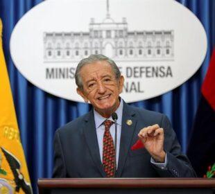 Ministro de Defensa de Ecuador sobre papeletas de parlamentarios andinos - Noticias de Ecuador