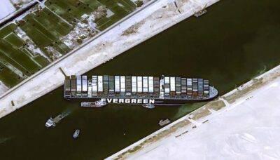 Buque Ever Given encallado en el canal Suez - Noticias de Ecuador