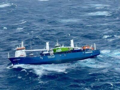 Carguero noruego en el mar del Norte - Noticias de Ecuador