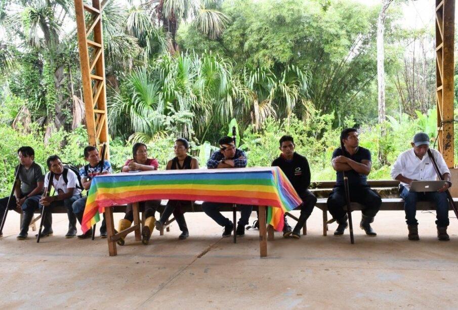 Rechazo al proceso electoral por parte del pueblo Sarayaku | Noticias de Ecuador