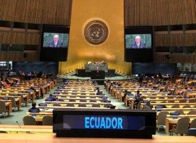 Naciones Unidas brindará apoyo a Ecuador para combatir la corrupción - Noticias de Ecuador