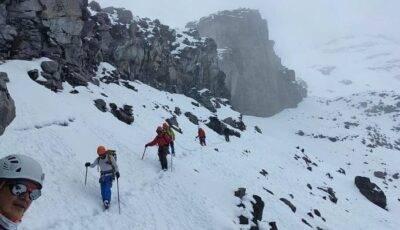 Avalancha en el Chimborazo - Noticias de Ecuador